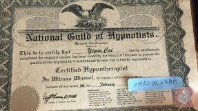 美国ngh催眠师