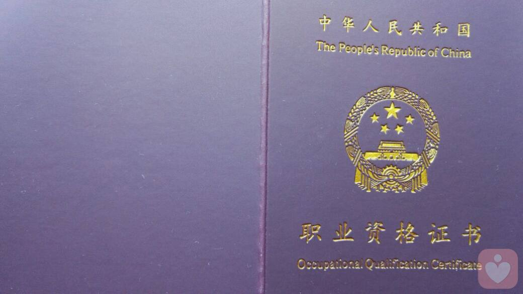 心理咨询执业资格证书(1)